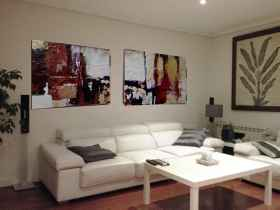 ver cuadros dipticos para decorar salón