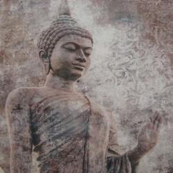 Lienzo decoración de Buda impreso tamaño mediano grande formato cuadrado decoración Zen