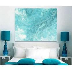 Cuadro para dormitorio moderno decoración lienzo encima cabecero cama matrimonio