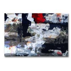 Cuadro lienzo Arte contemporáneo Abstracto Sin marco Ideal para la decoración de tu salón.