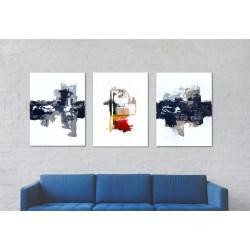 Disfruta en tu pared de los nuevos  modelos arte abstracto en lienzo.