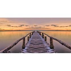 un precioso cuadro paisaje foto lienzo  para tu decoración