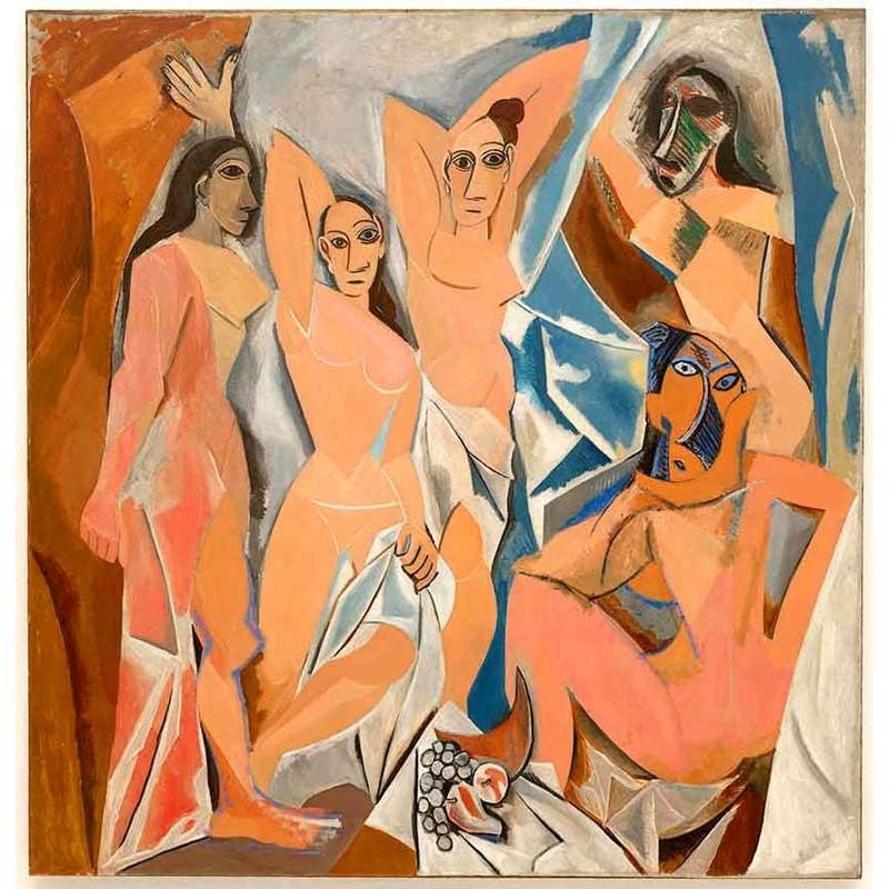 Cuadro famoso Picasso. Un magnifica recreación pintada a mano para decoración de la casa.
