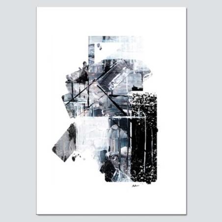Cuadro abstracto grande moderno lienzo. Disfruta este  cuadro en tu salón.