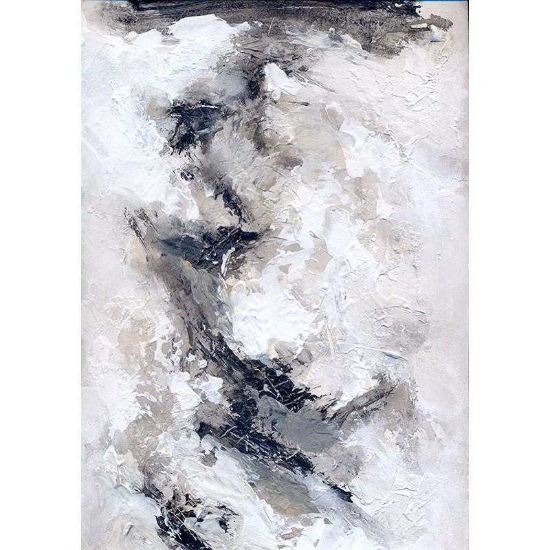 Cuadro abstracto grande lienzo. Imagina este bonito cuadro en tu salón.