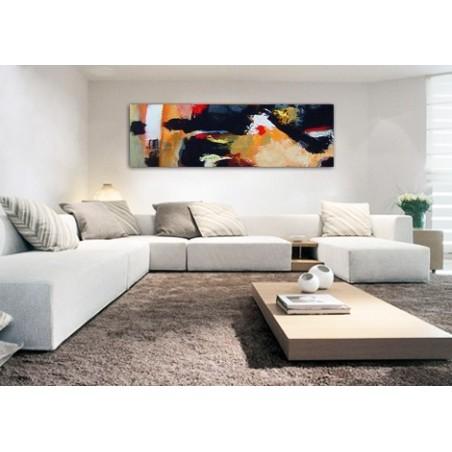 cuadros gran formato cuadro abstracto grandes dimensiones decoración salones modernos