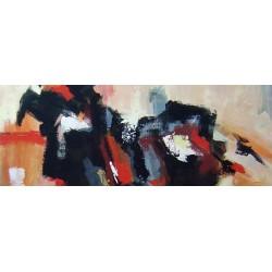 Cuadros gran formato abstractos modernos pintados a mano