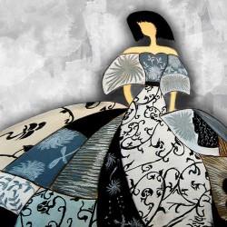 cuadro Menina moderna cuadro lienzo impreso arte actual decoración hogar