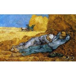 """Comprar online Cuadros de Van gogh, Cuadros famosos, Cuadros pintores famosos """"la siesta"""" impresión en lienzo."""
