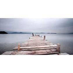 cuadro lienzo impreso decorativo gran formato paisaje marino. Cuadros modernos foto impresion decoración actual.
