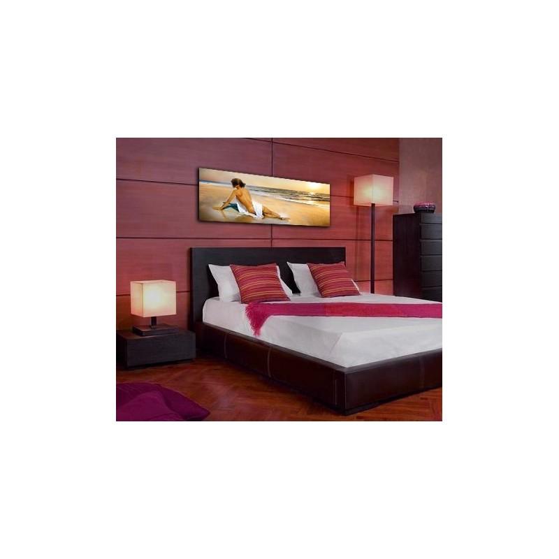comprar cuadro dormitorio cuadro cabecero cama lienzo playa