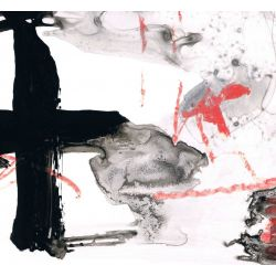 Cuadro abstracto pintura contemporánea cuadrado lienzo cuadro decorativo moderno