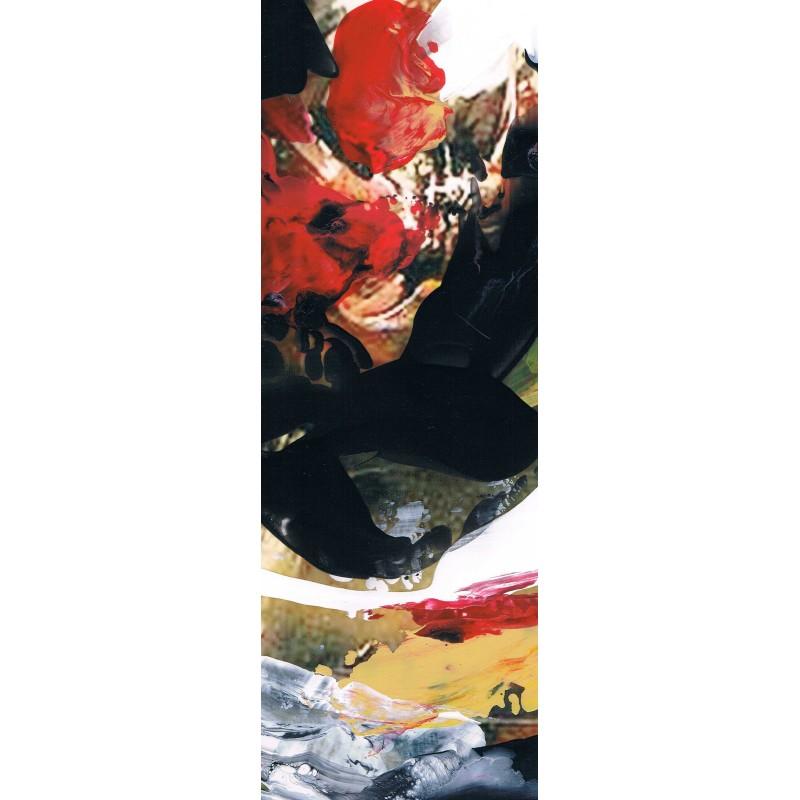 Cuadros abstractos pintura moderna vanguardista grandes decorativos verticales alargados