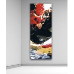 cuadros modernos arte abstracto pintura moderna grande lienzo vertical Cuadros Blangar decoración casa hogar