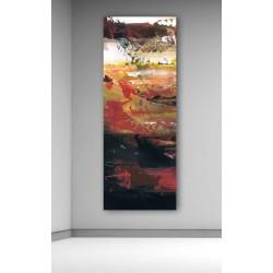 cuadros modernos arte abstracto   lienzo grande vertical