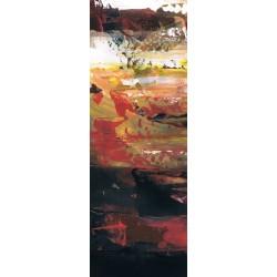 cuadro abstracto vertical alargado decorativo bonitos colores comprar online