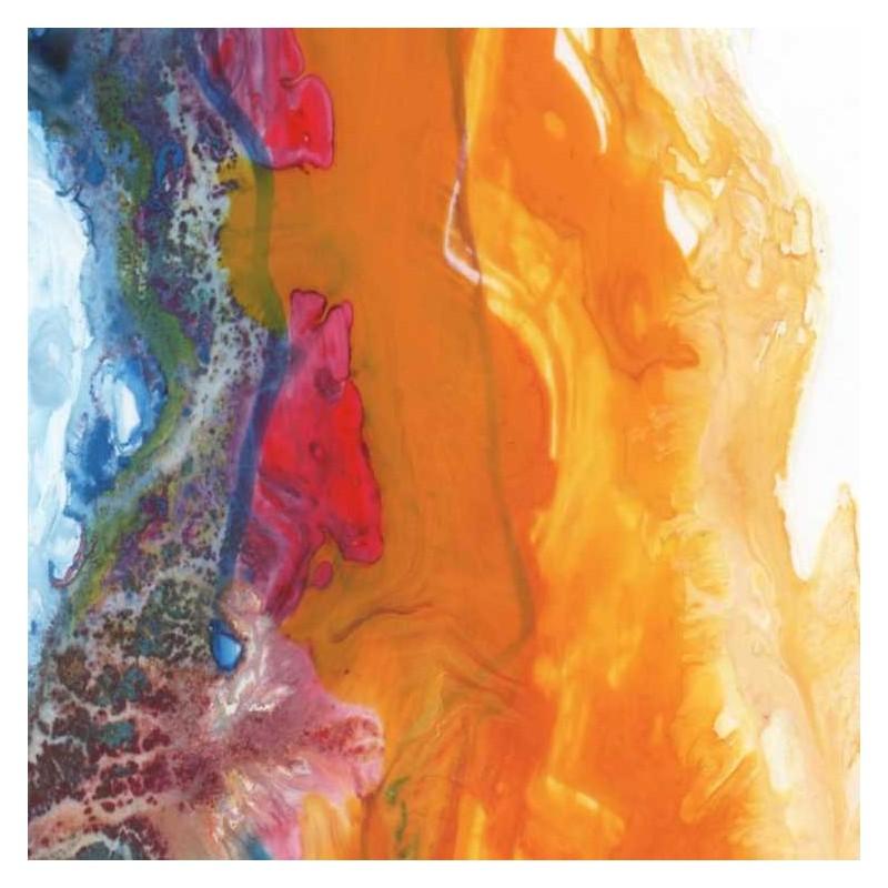 cuadro abstracto moderno lienzo impreso decoración hogar con maravillosas aguadas color