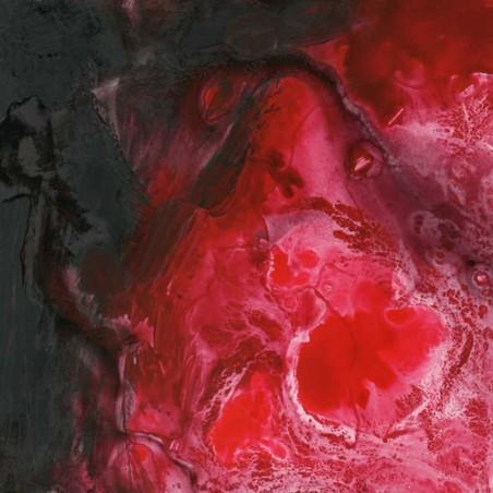 cuadro abstracto moderno Cuadros decorativos lienzo  tonos rojos cuadros Blangar