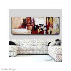 cuadros modernos abstractos pintura gran formato decoración online cuadros salon modernos comprar online