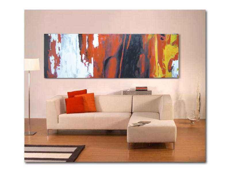 cuadros abstractos modernos decorativos salón