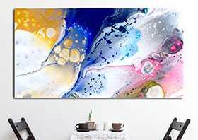 Abstracto moderno cuadro decoración pared casa