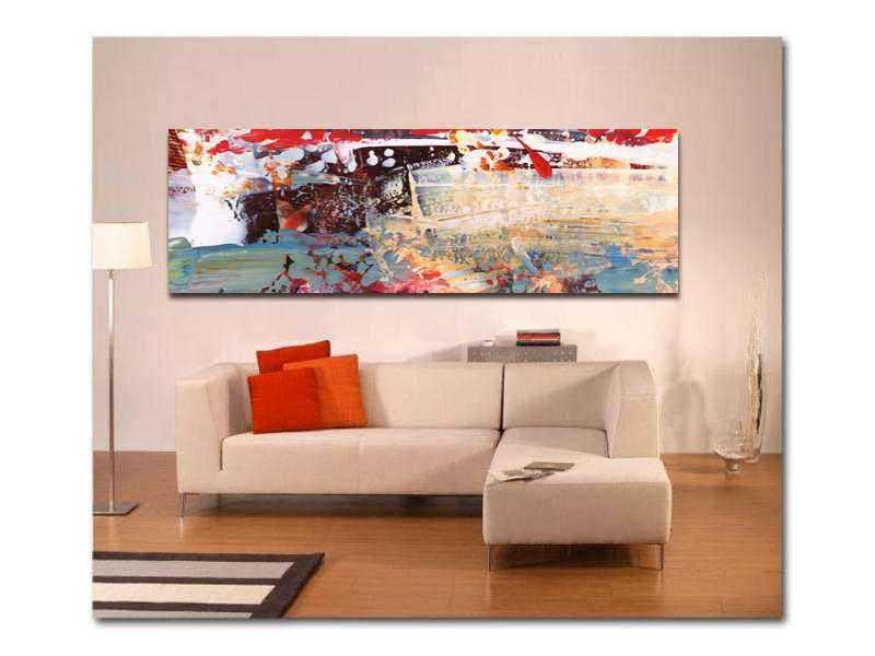 Cuadro lienzo abstracto decorativo salón